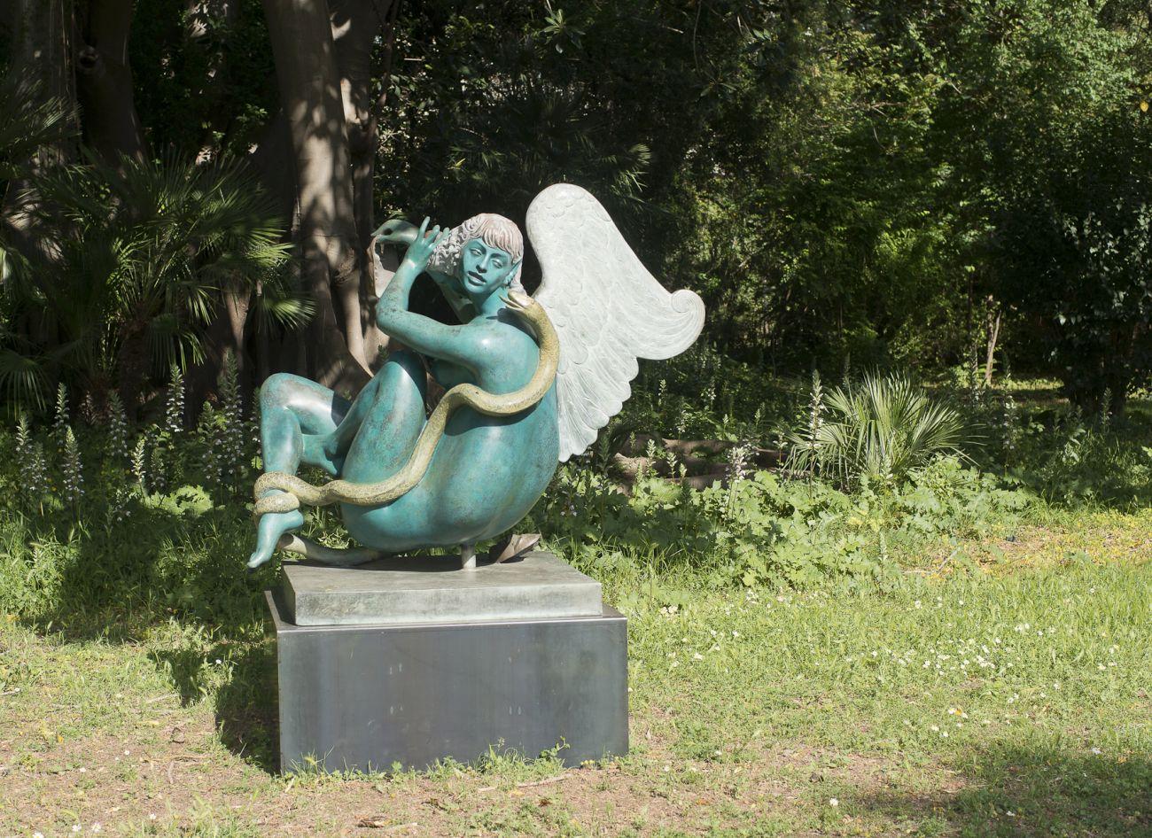 A Palermo le sculture di Alba Gonzales in una mostra al parco della Fondazione Whitaker