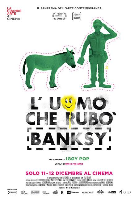 """Il documentario """"L'uomo che rubò Banksy"""" arriva al cinema"""