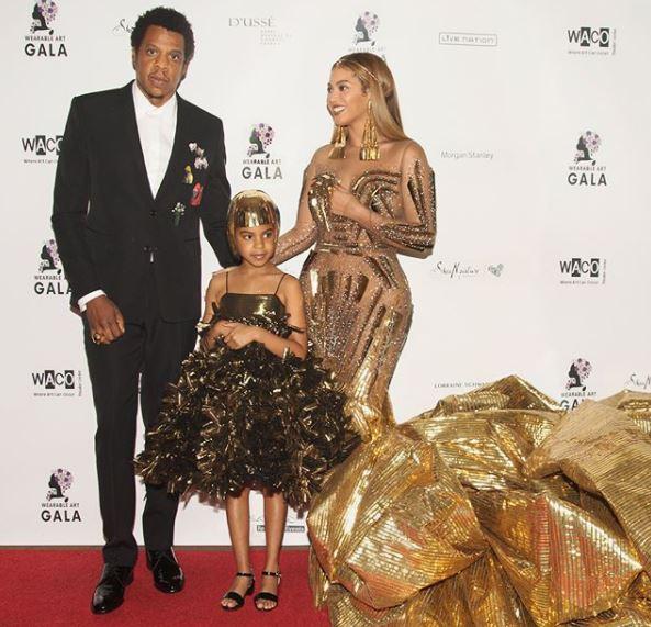 La figlia Beyoncé e Jay-Z a soli sei anni è già una giovane collezionista d'arte