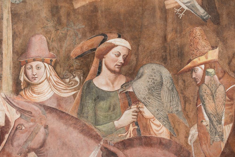Buonamico Buffalmacco, Trionfo della Morte, Dettaglio