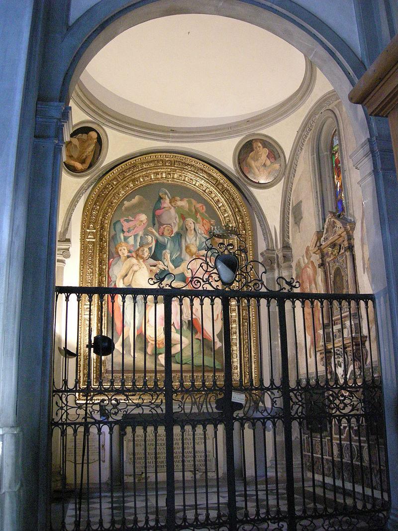 Scoperto il modello a spina di pesce di Brunelleschi nella Cappella Capponi in Santa Felicita