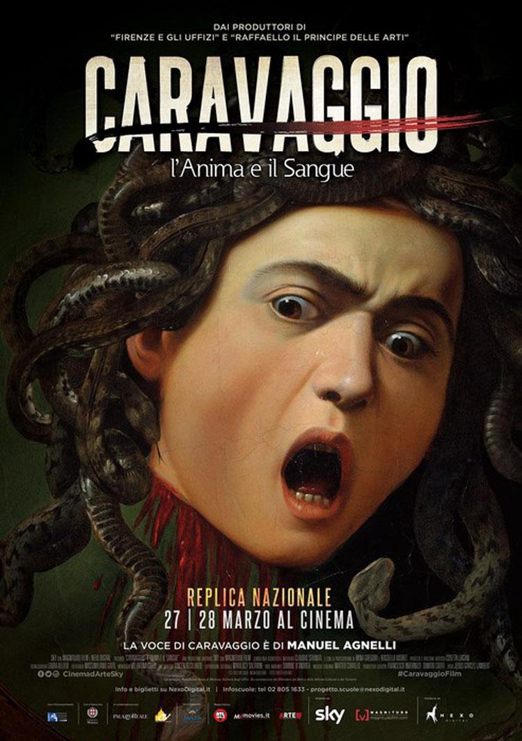 Caravaggio-L'anima e il sangue: sarà replicato il 27 e il 28 marzo