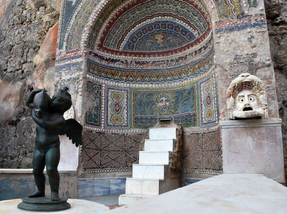 Pompei, dopo i restauri riaprono Casa della Fontana Grande, Casa dell'Ancora e Tempio di Iside