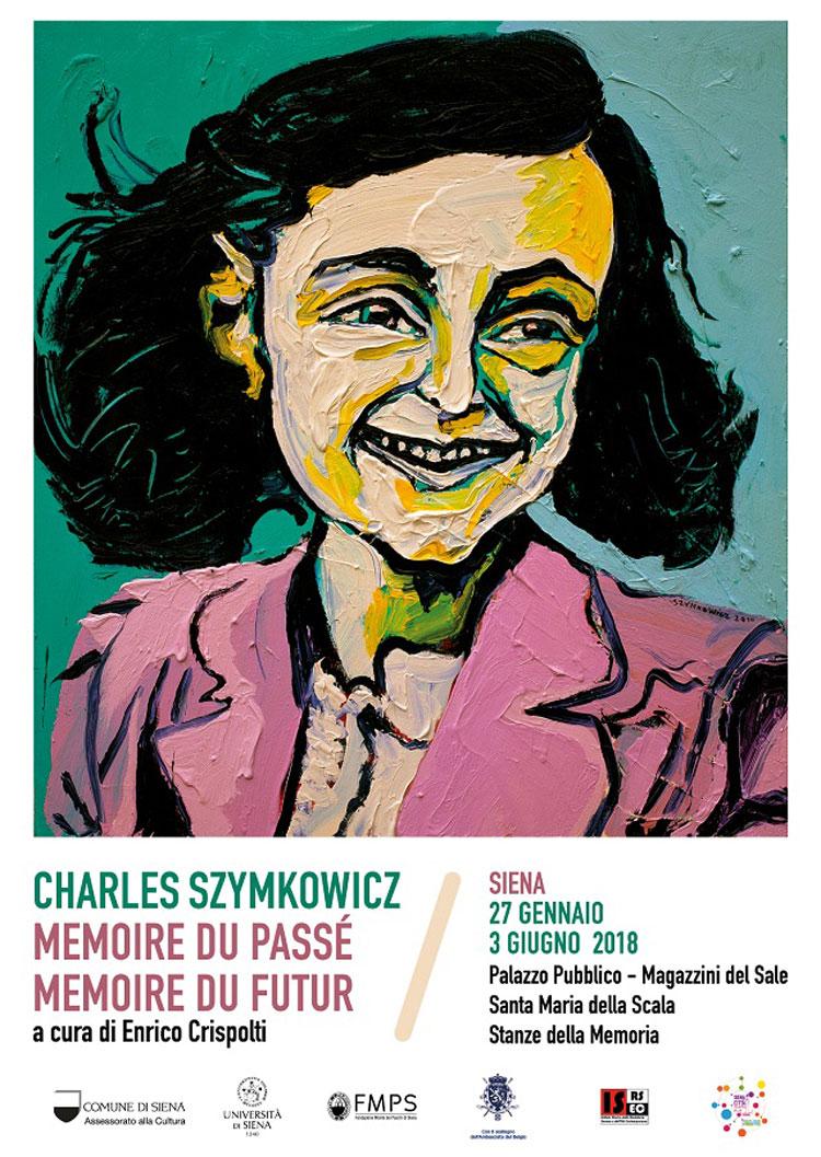 Le opere di Charles Szymkowicz celebrano a Siena la Giornata della Memoria