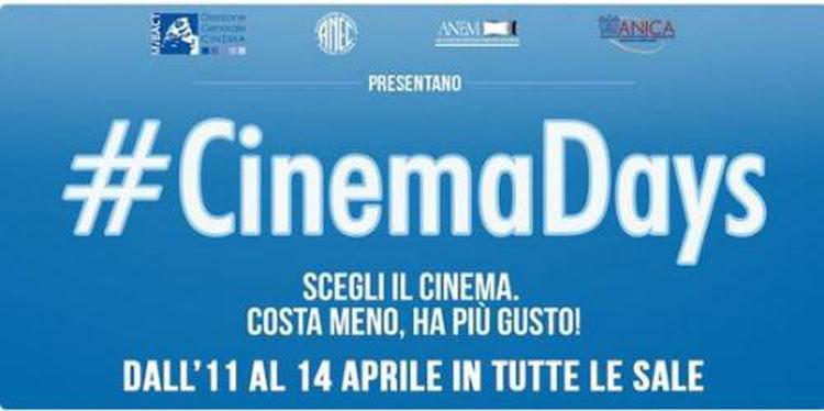 #Cinemadays: nuova iniziativa del MiBACT per portare pubblico al cinema