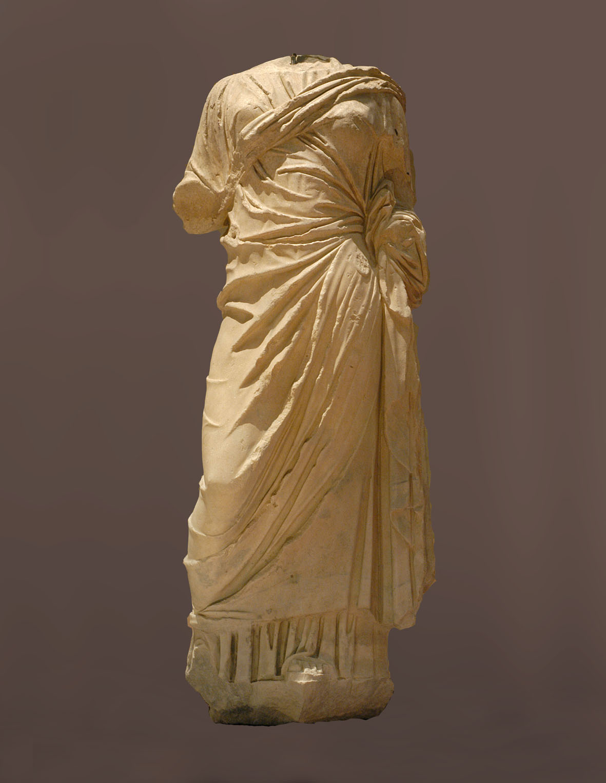 Statua di donna, marmo, I secolo d.C.