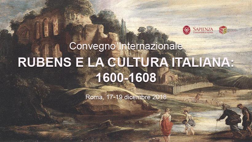 A Roma un convegno internazionale dedicato a Rubens e la cultura italiana