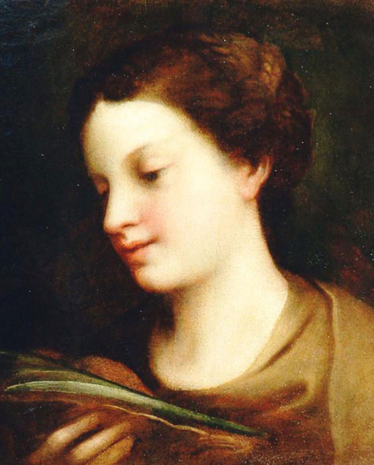 Il Correggio torna a casa: ecco la mostra sulla sant'Agata nel borgo natale del grande pittore