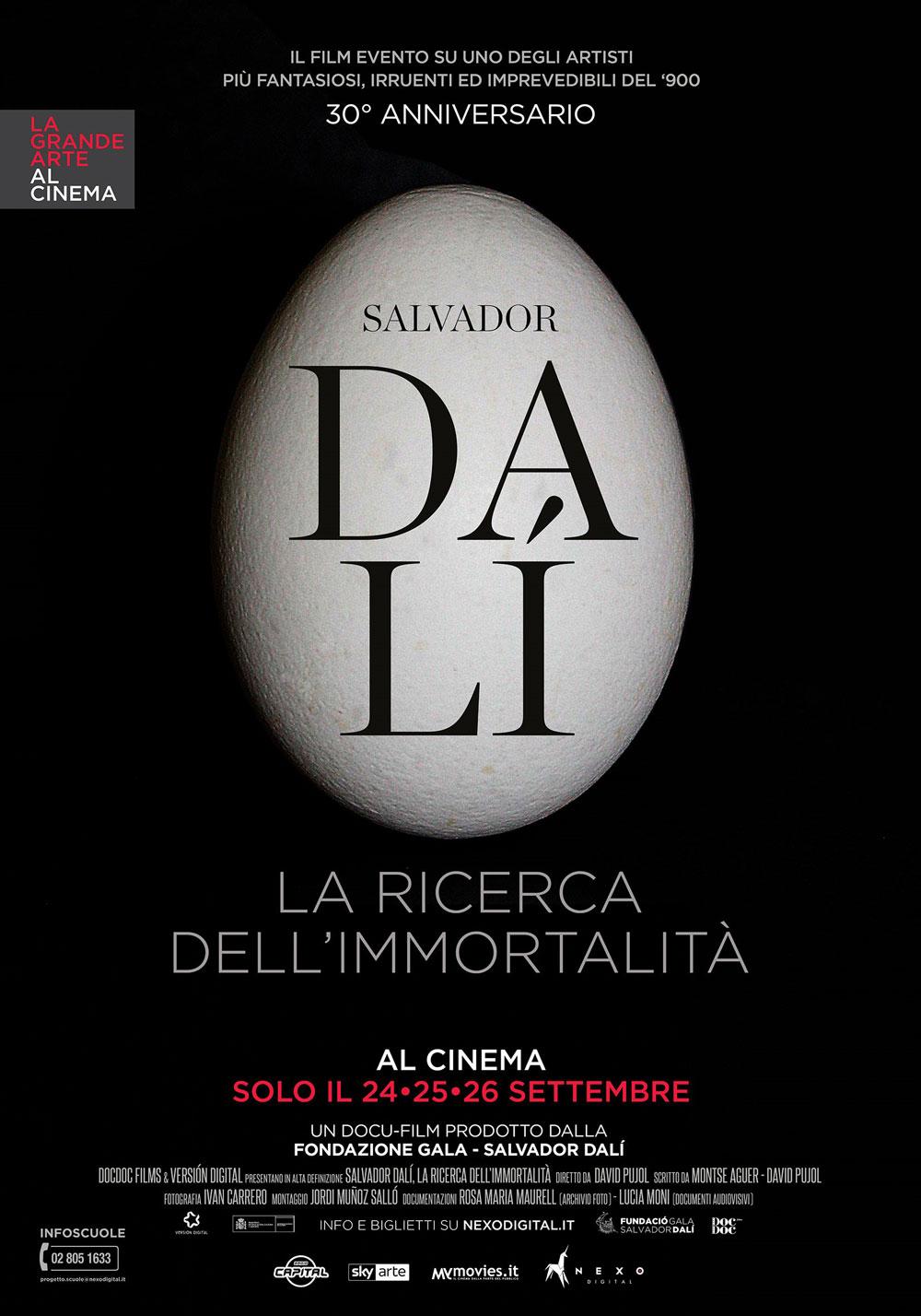 Il nuovo cartellone 2018 de La Grande Arte al Cinema si apre con Dalí