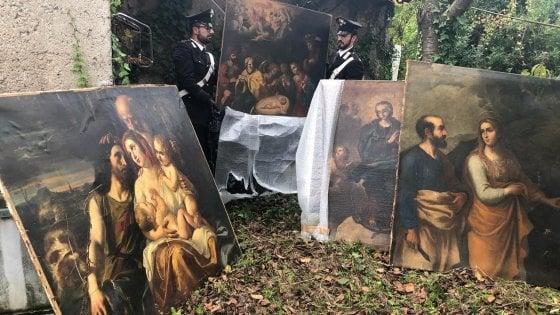 Roma, trovati quattro dipinti del XVII secolo rubati da un hotel nel 2001