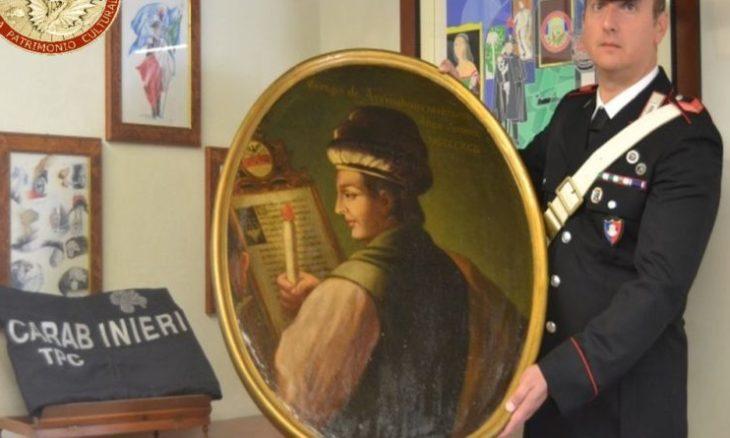 Messina, i carabinieri ritrovano un dipinto di scuola fiamminga rubato trent'anni fa