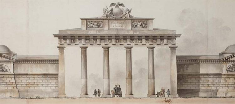 Alle Gallerie dell'Accademia di Venezia una mostra di disegni di Giacomo Quarenghi