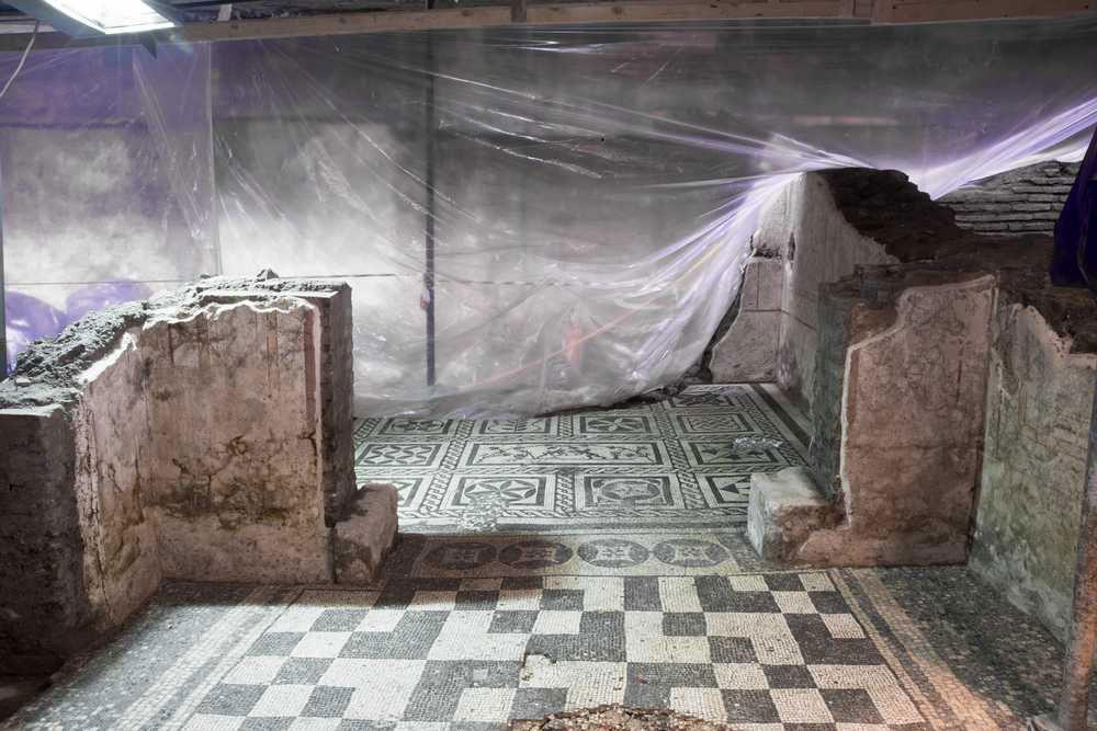 Sorprendente scoperta nella metro C di Roma