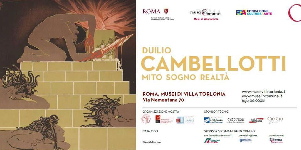 In mostra l'arte multidisciplinare di Duilio Cambellotti ai Musei di Villa Torlonia