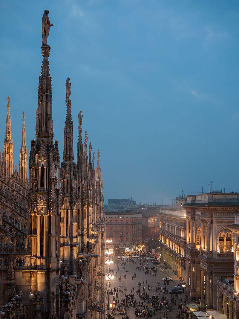 Nuova illuminazione esterna per il Duomo di Milano
