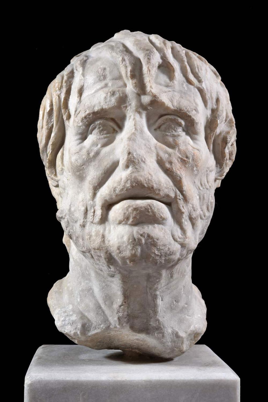 L'Erma-ritratto dello Pseudo Seneca in volo verso il Lussemburgo
