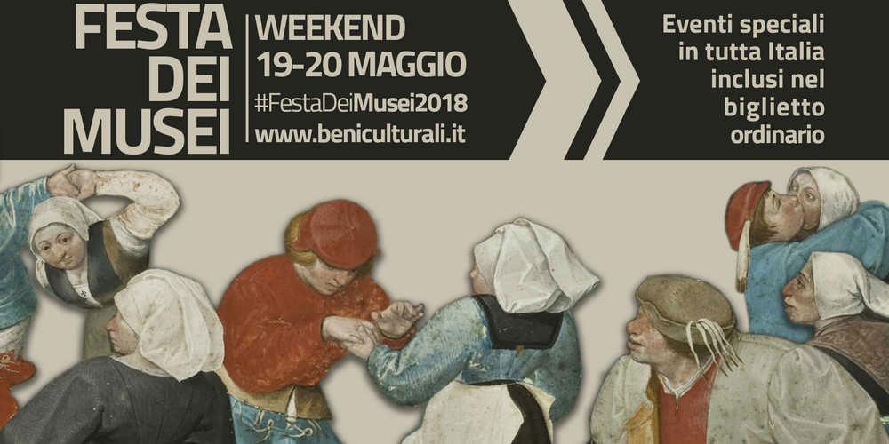 Festeggia anche tu la Festa dei Musei e la Notte dei Musei 2018!