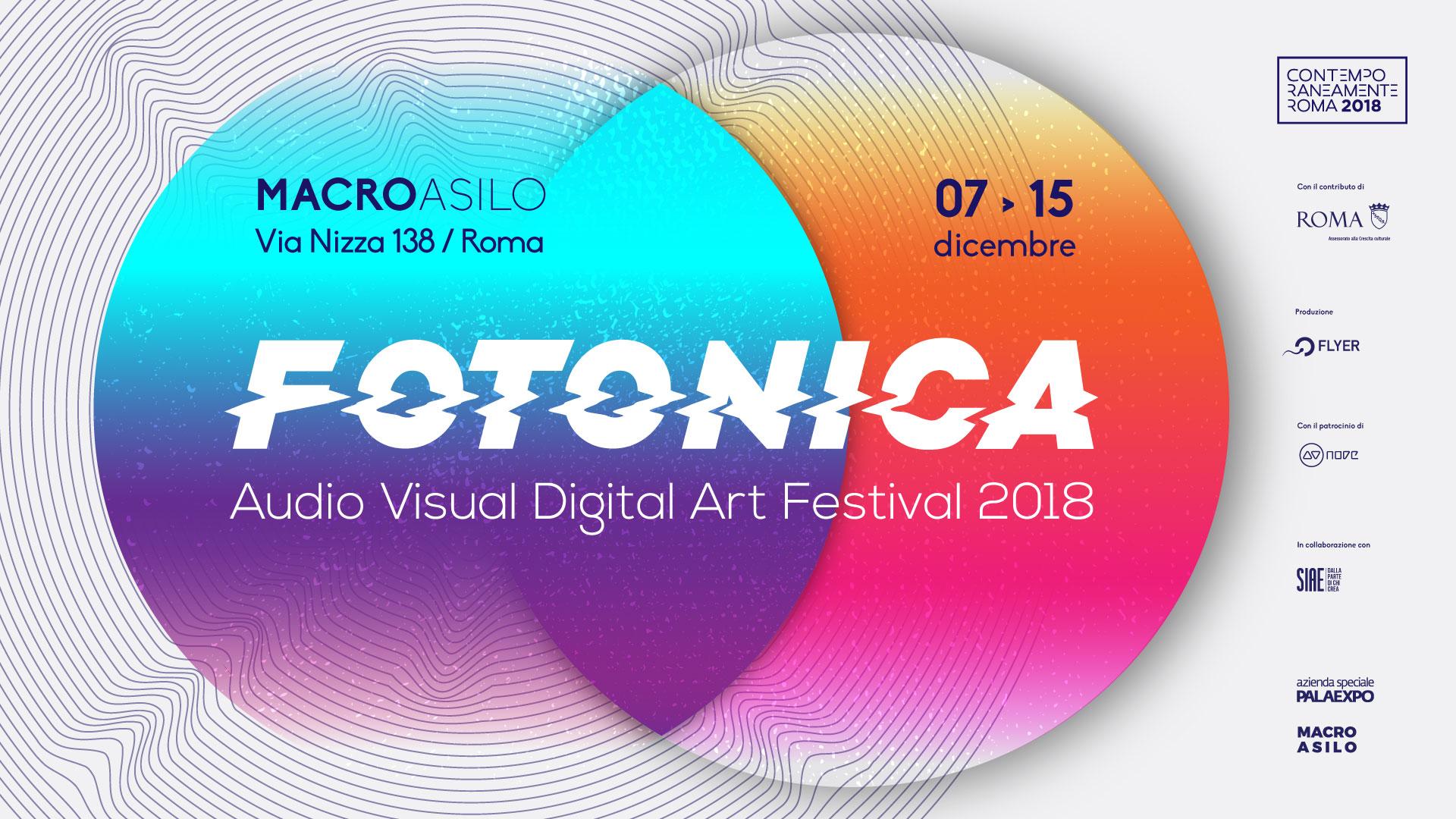 La seconda edizione del festival Fotonica al MACRO Asilo di Roma