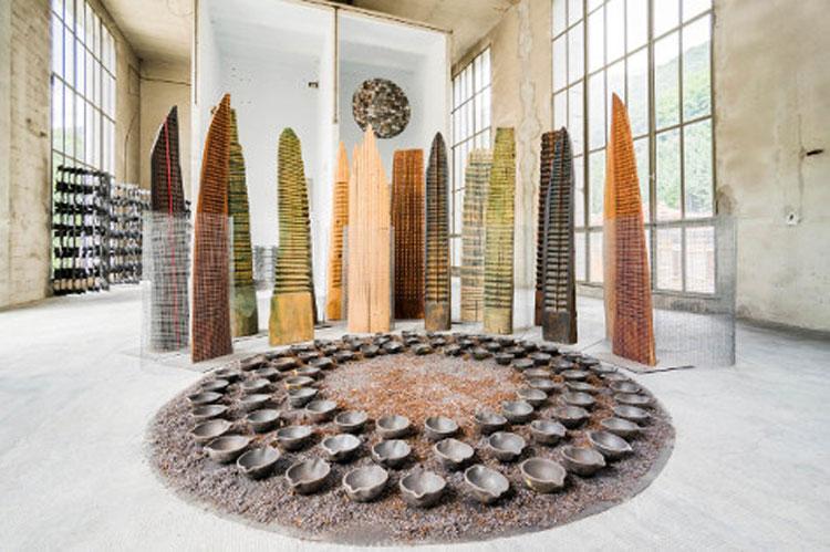 Franca Ghitti scultrice: a Mendrisio una mostra unica sulla sua carriera. Le foto