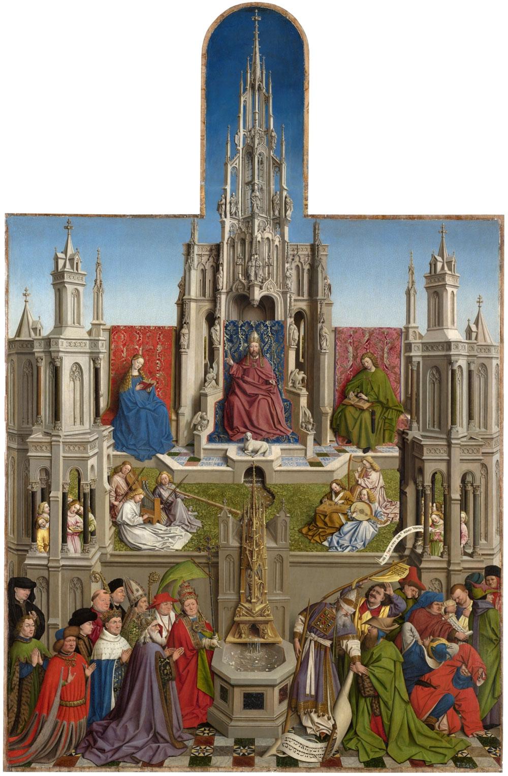 La Fuente de la Gracia si mostra restaurata al Museo del Prado