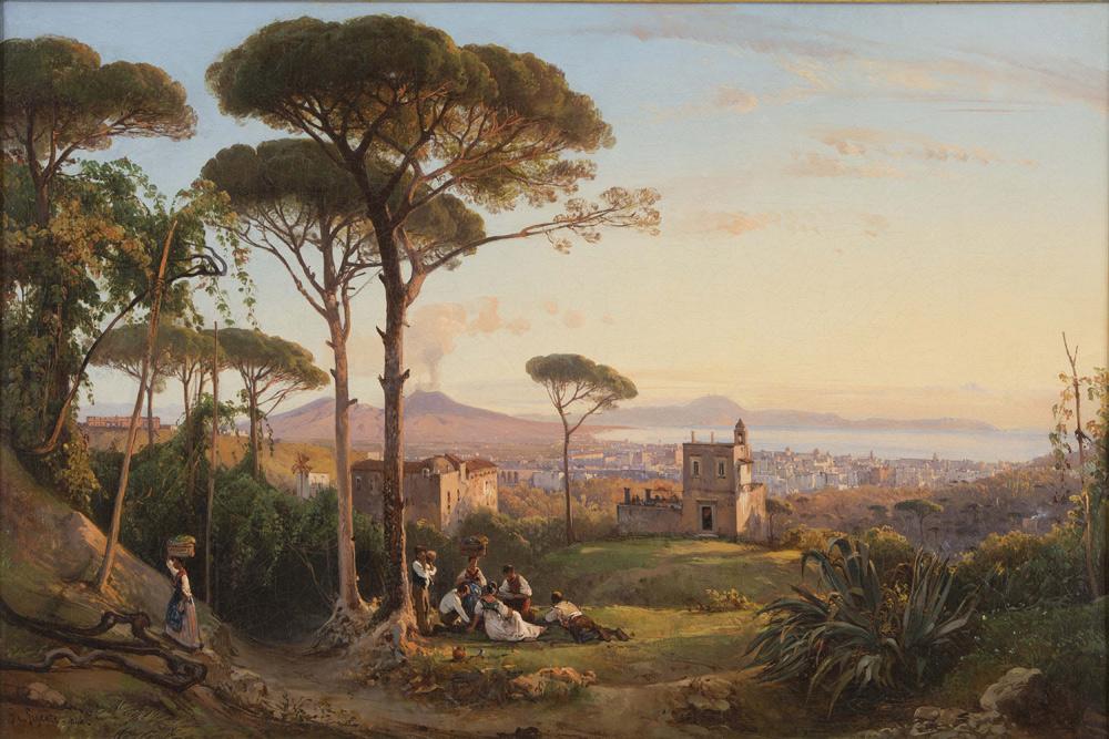 Giacinto Gigante, Napoli vista dalla Conocchia (1844; Collezione privata)