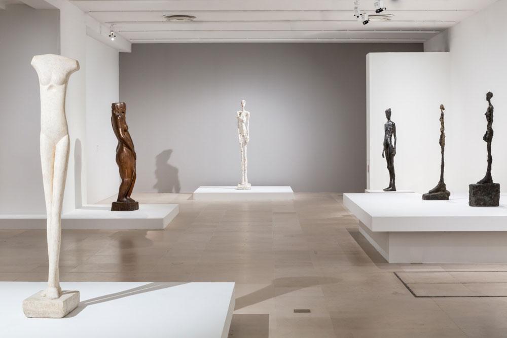 Giacometti dialoga con artisti classici e suoi contemporanei al Musée Maillol di Parigi