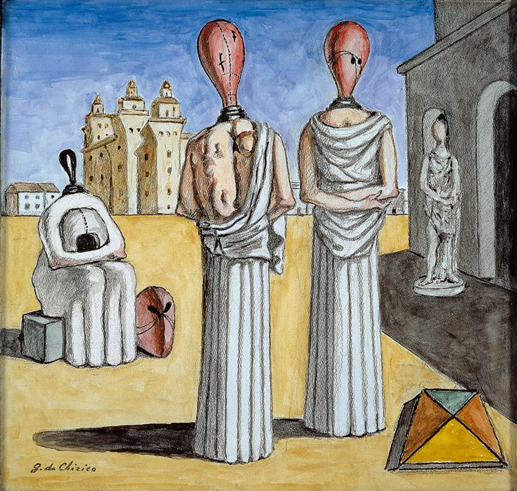 L'arte di Giorgio De Chirico è in mostra a Osimo