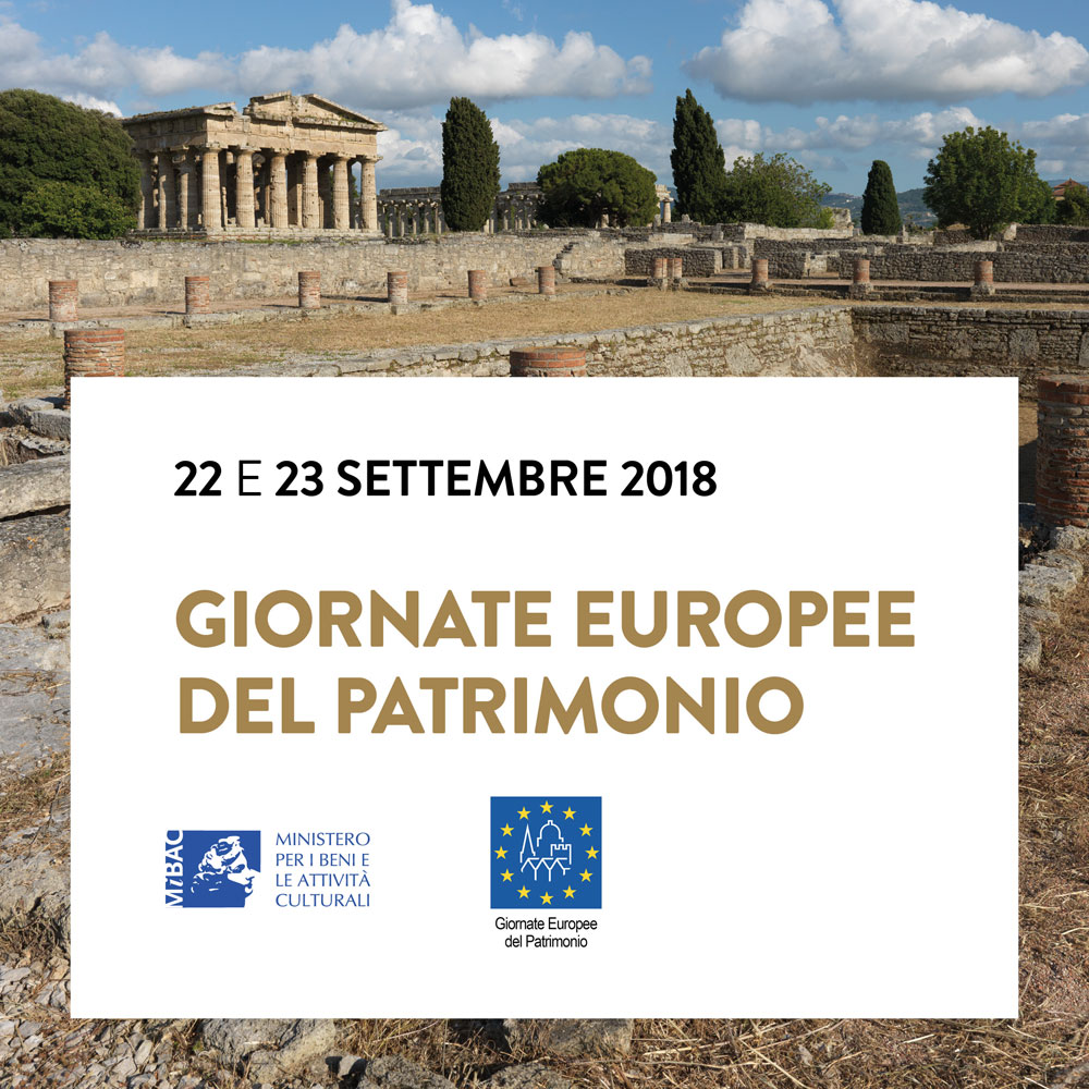 Giornate Europee del Patrimonio al Parco Archeologico di Paestum