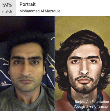 A quale dipinto assomigli? Una app di Google te lo dice!