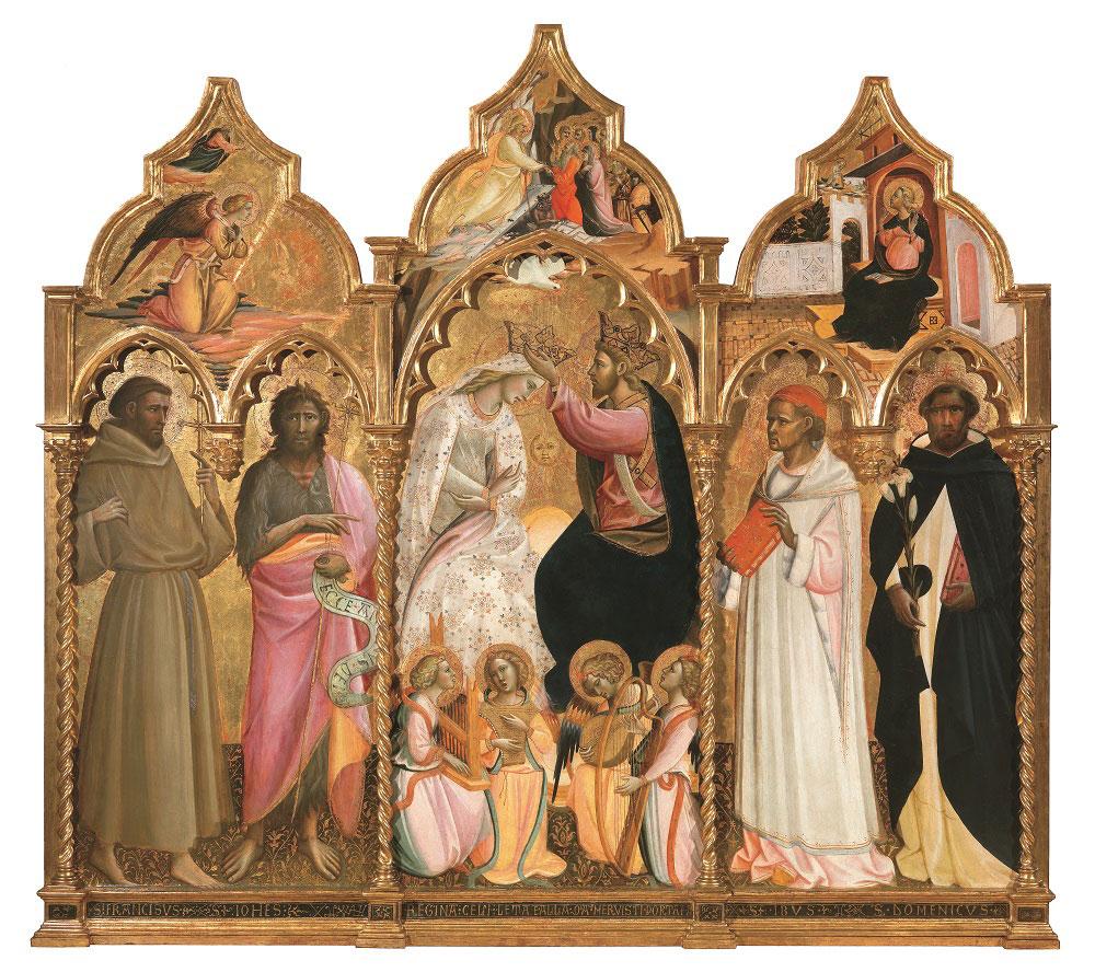 Il terzo appuntamento di Recenti Restauri sarà dedicato al restauro dell'Incoronazione della Vergine e santi di Giovanni dal Ponte
