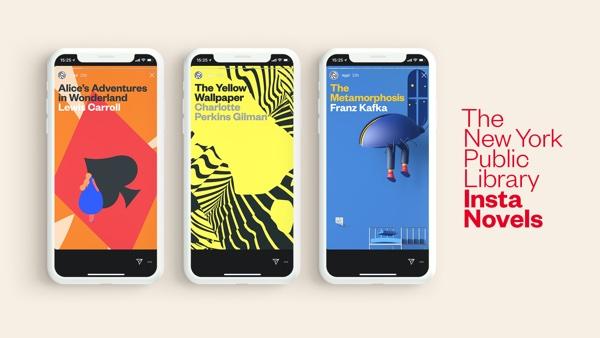 I grandi classici della letteratura sotto forma di Instagram Stories, ecco il progetto della New York Public Library