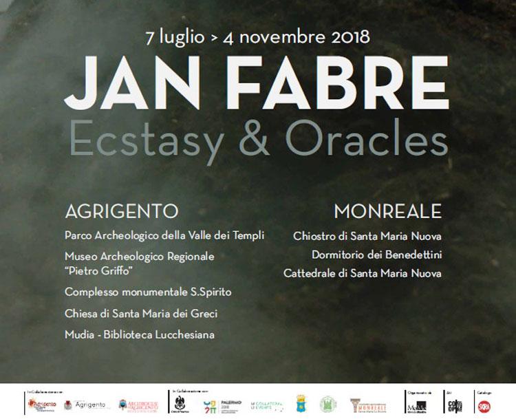 Ecstasy & Oracles: la nuova mostra di Jan Fabre ad Agrigento e a Monreale