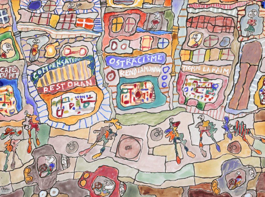 Reggio Emilia, ecco la grande mostra su Jean Dubuffet. Per la prima volta in Italia