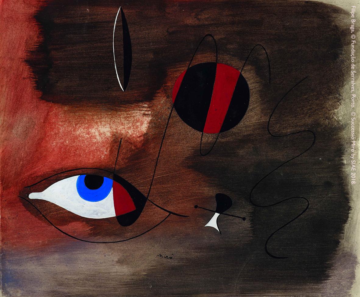 A Padova in mostra le opere di Joan Miró mai uscite prima dal Portogallo