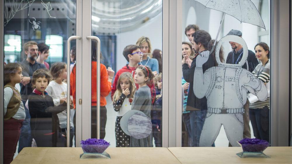 In viaggio nel cosmo: ciclo di laboratori per bambini al MAXXI