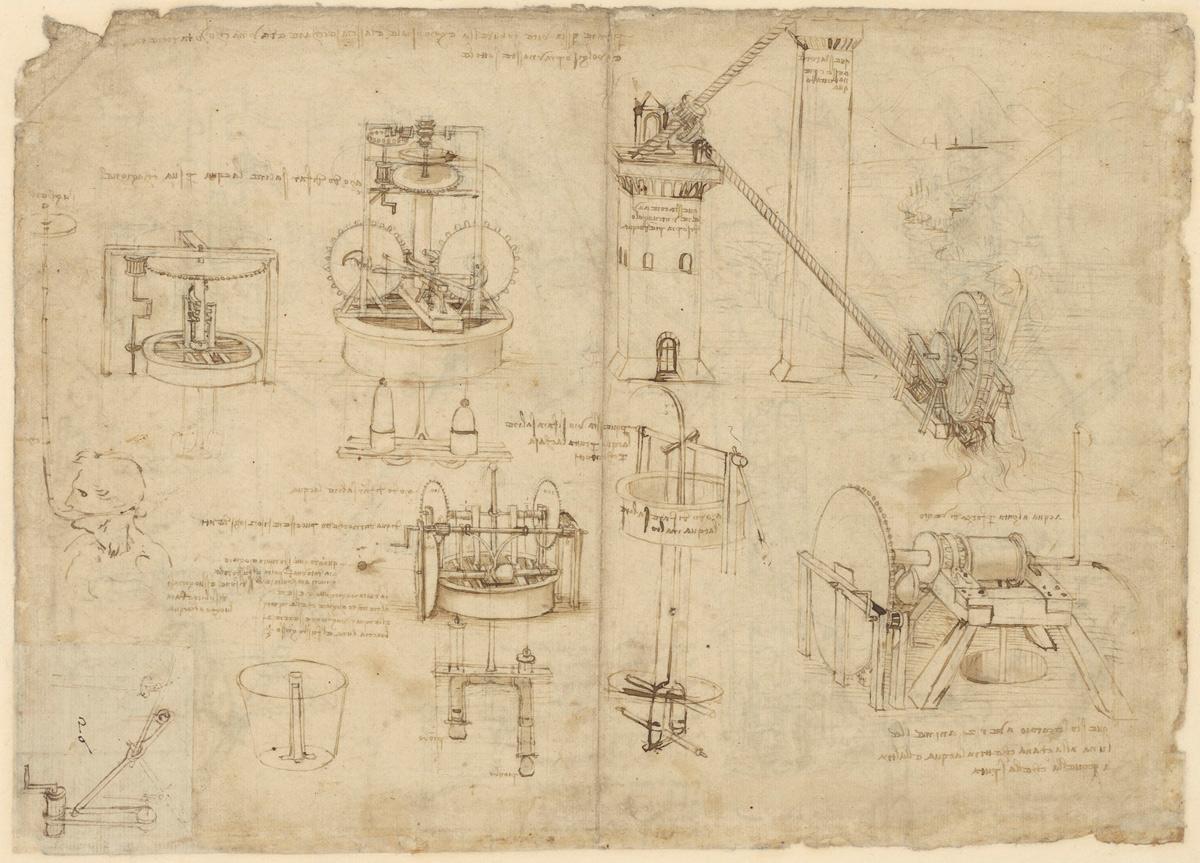 Quattro mostre su Leonardo da Vinci alla Biblioteca Ambrosiana di Milano, con focus sul Codice Atlantico