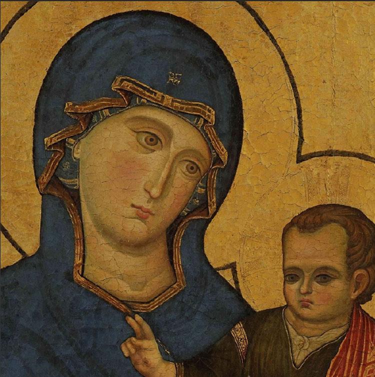 È di Filippo Rusuti la Madonna col Bambino di Santa Maria del Popolo: la firma emerge dal restauro