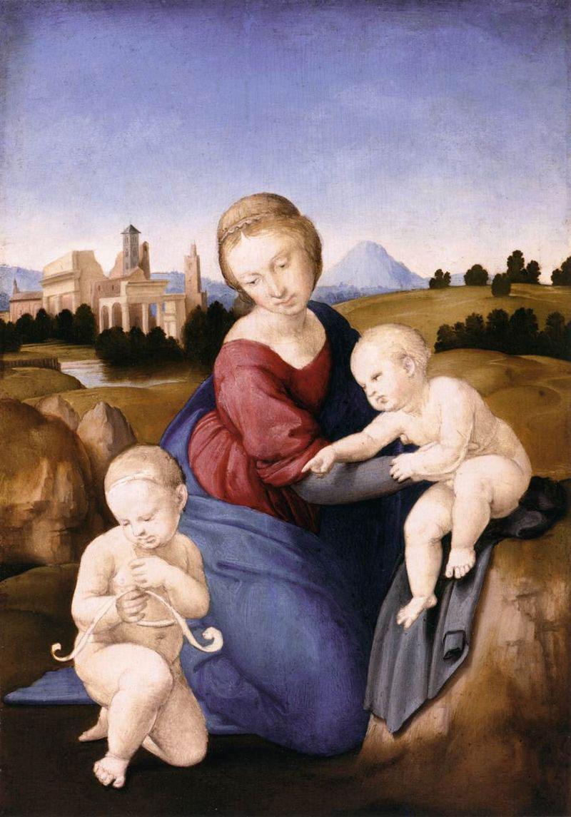 La Madonna Esterházy di Raffaello protagonista a Palazzo Barberini