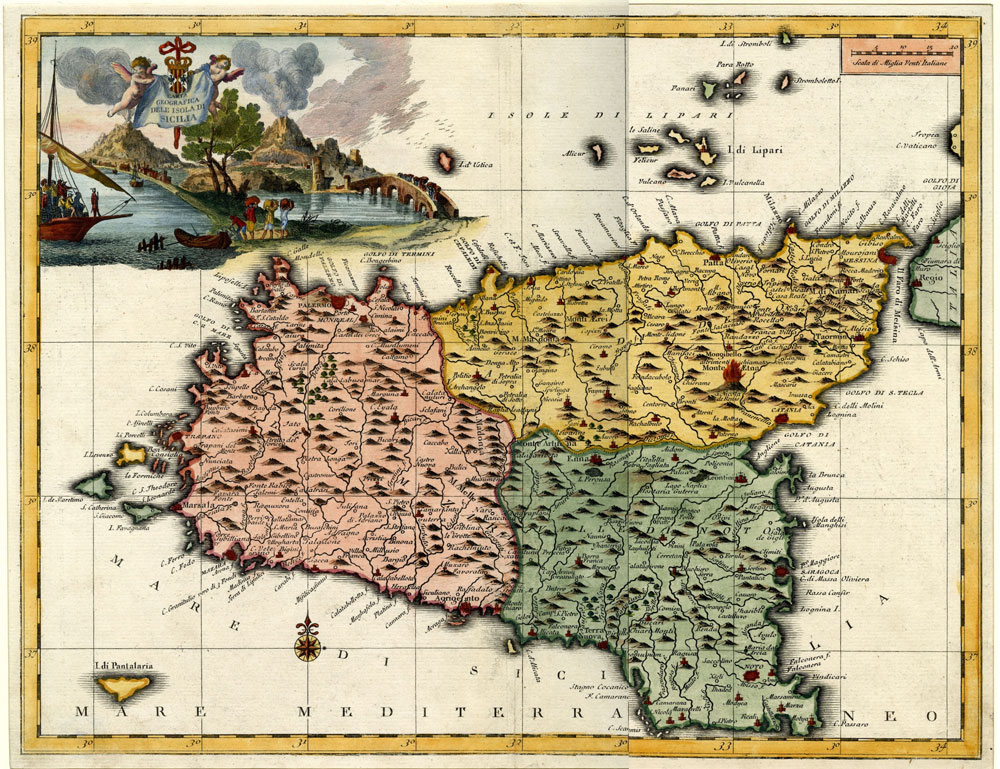 A Taormina il festival che racconta la Sicilia e il Mediterraneo attraverso le mappe storiche