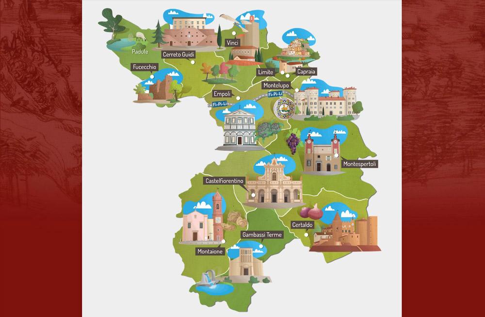 Una sorta di Pechino Express dei musei, in Toscana, nelle terre di Leonardo, domenica prossima: ecco come partecipare