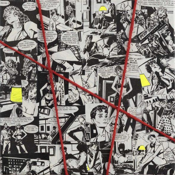 Lo stravolgimento narrativo del fumetto italiano, la mostra di MBU-69 a Roma