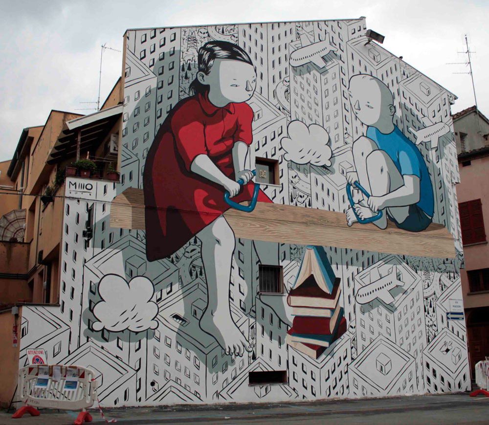 In arrivo a Forlì la prima edizione di Muralì Street Art Festival