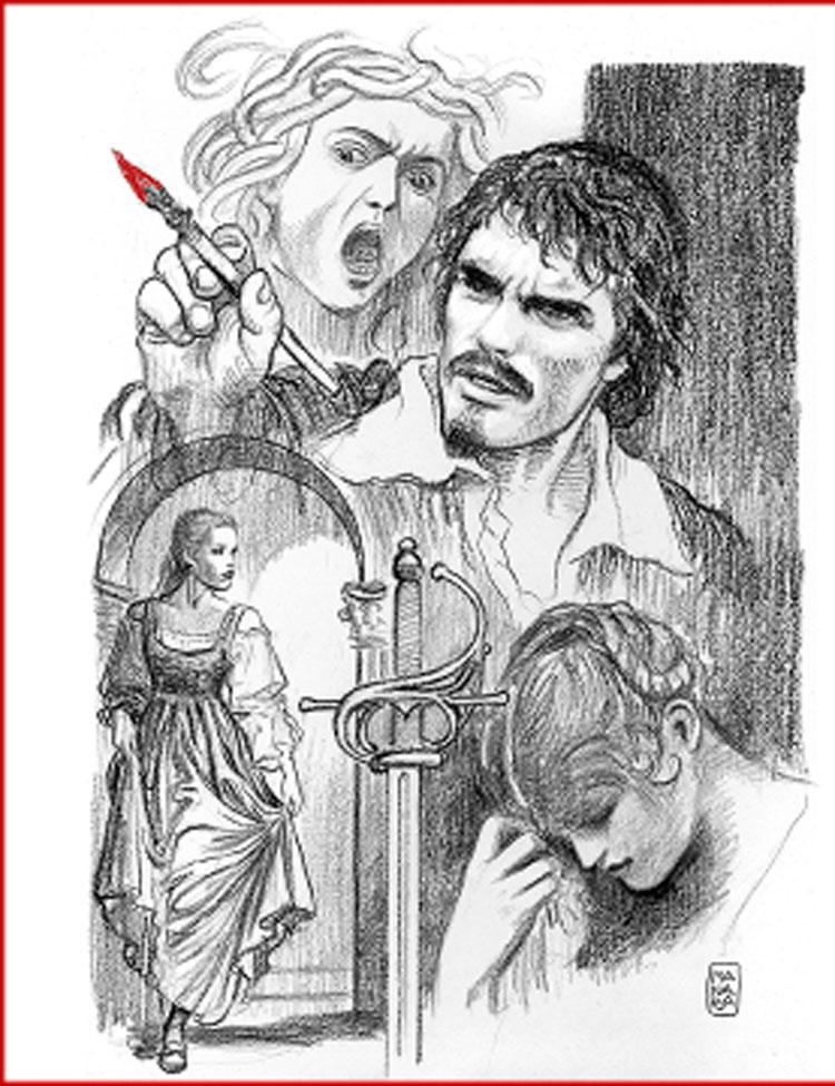 Milo Manara presenta ad Arezzo la seconda parte della graphic novel su Caravaggio