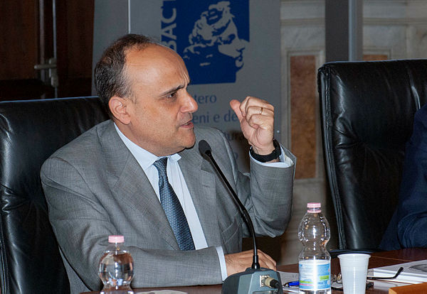 Il ministro Alberto Bonisoli