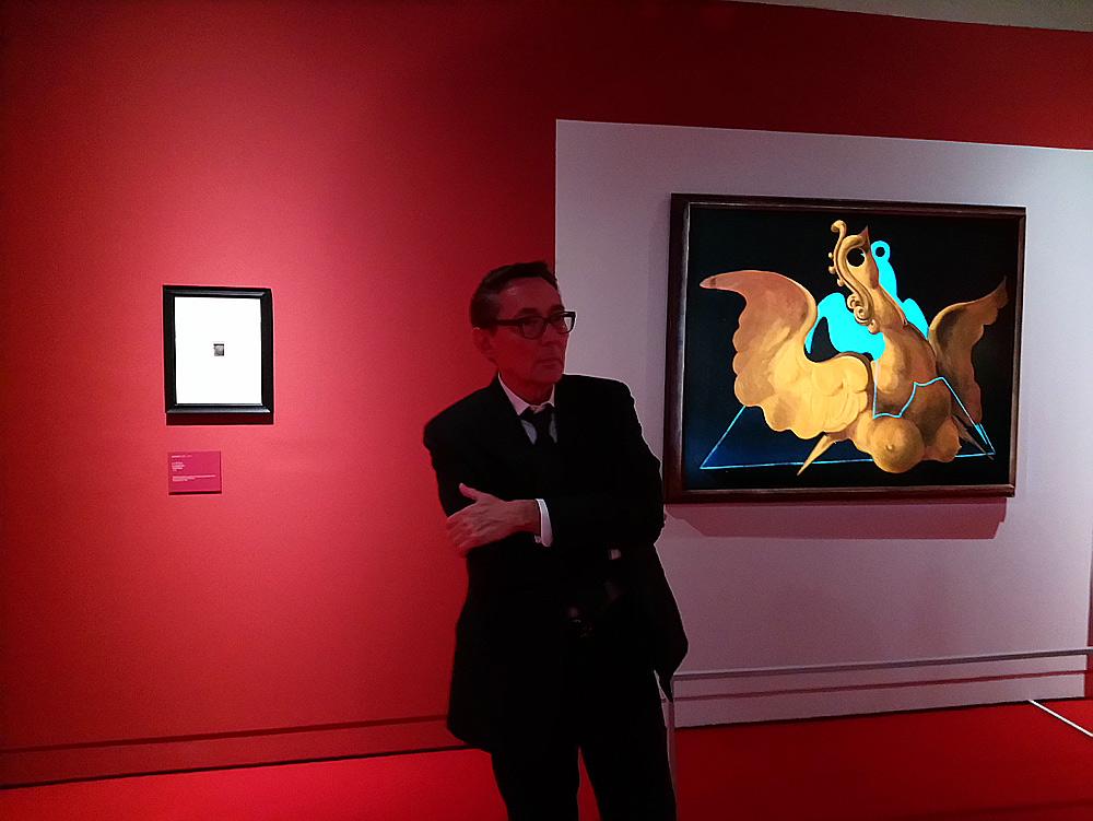 Il curatore Didier Ottinger