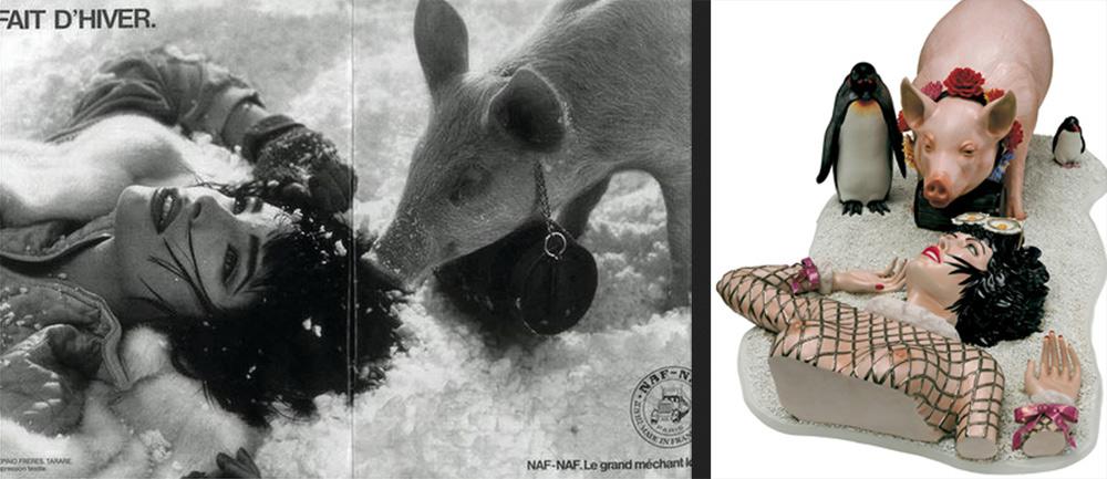 Jeff Koons condannato per plagio: avrebbe copiato una pubblicità degli anni Ottanta