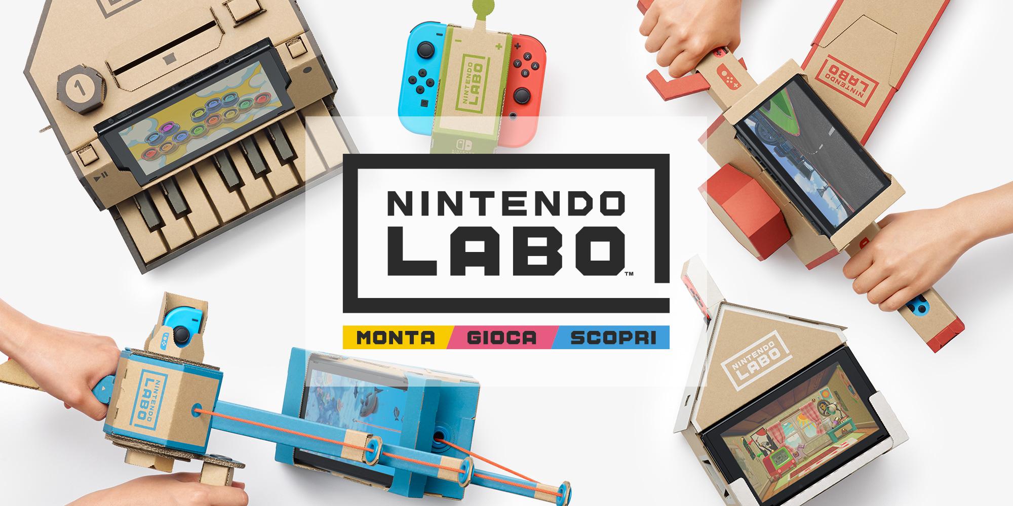 Nintendo Labo in tour in cinque musei italiani
