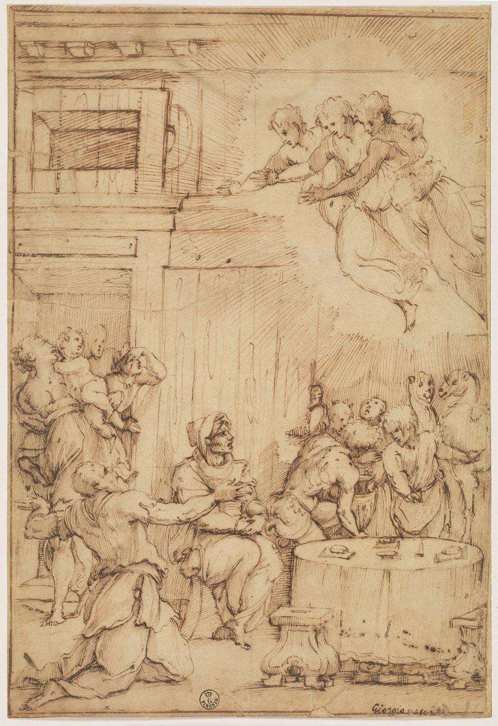 D'odio e d'amore. Una mostra agli Uffizi indaga i rapporti tra Giorgio Vasari e gli artisti suoi contemporanei d'oltre Appennino