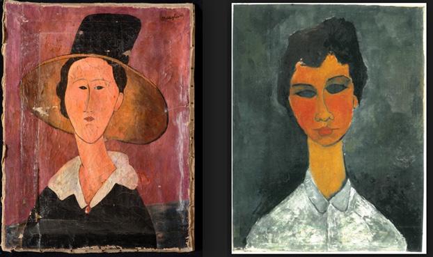 Modigliani falsi, il caso si allarga a Palermo: sequestrate le due opere in mostra a Palazzo Bonocore