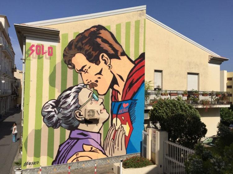 A settembre una nuova edizione di OSA - Operazione Street Art nel paese dei nasi all'insù